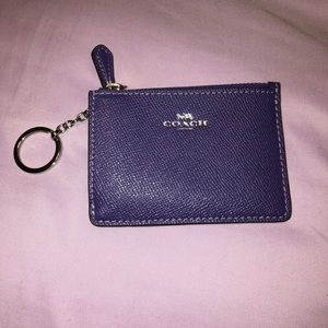 NWOT COACH Keychain Wallet